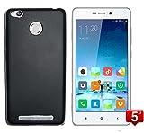 Todobarato24h Funda TPU Lisa Compatible con Xiaomi REDMI 3 Pro / 3S Negra
