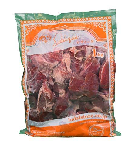ハラル認証 羊肉 ラム ブロック 塊肉 冷凍 1kg / HALAL Lamb Boneless frozen 1kg