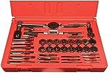 Viking Drill and Tool 35171 SF-40TDI Type 24-UB Straight Flute Plug Style Magnum Super Premium Tap/Hex Die Set