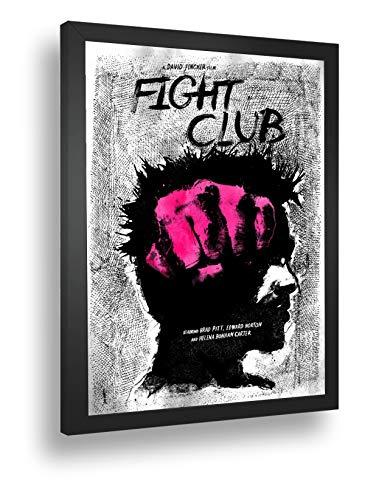 Quadro Decorativo Poster Figth Club Clube Da Luta