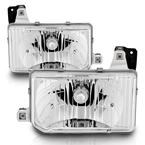 AmeriLite Replacement Headlights Set for Hardbody D21 - Passenger and Driver Side