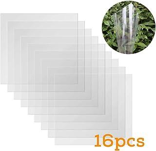 BAISDY 16PCS 6mil Thickness Clear Mylar Sheet Blank Mylar Stencil Sheets, 12 X 12 Inch