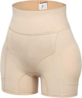 miss moly Womens Seamless Butt Lifter Padded Lace Panties Enhancer Underwear Pad Briefs Bodyshaper
