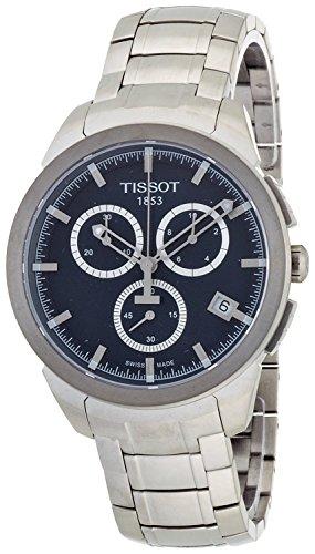 Tissot Reloj cronógrafo de Cuarzo de Titanio t0694174404100Hombre [Regular Importados]