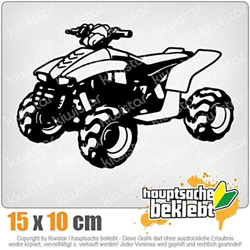 KIWISTAR Aufkleber - Quad Motorbike - Autoaufkleber Sticker Bomb Decals Tuning Bekleben