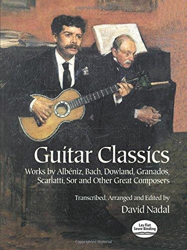 Guitar Classics: Noten, Sammelband für Gitarre (Dover Chamber Music Scores)