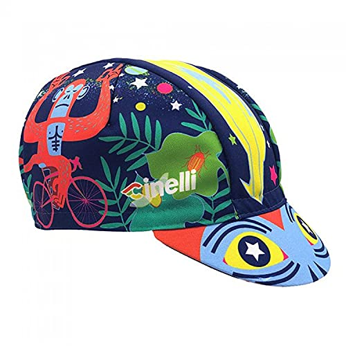 Cinelli Jungle Zen Cappellino da Uomo, Multicolore, Taglia Unica