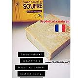 Beste Seife mit natürlichem Schwefel für Akne, Mitesser, Schuppenflechte und Unvollkommenheiten...