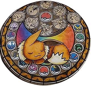 Tapis Pokémon rond Chambre décoration accessoire maison coussin doux Enfant mignon bébé puériculture Pokémon manga Neuf An...