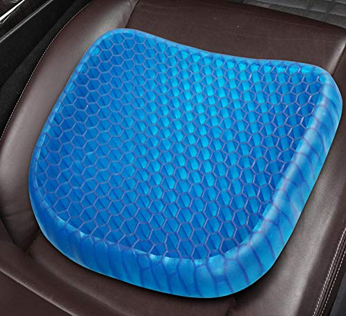 Coccyx Pain Relief Cushion Seat Cushion Office Chair Cushion Coccyx Cushion Sciatica Pain Relief Seat Cushions For Silicone Egg Cushion Gel Honeycomb Egg Cushion Cold Office Chair Cushion-42*35Cm