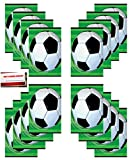 (16 Pack) Soccer Ball Foosball Birthday Party Plastic Loot Treat Candy...