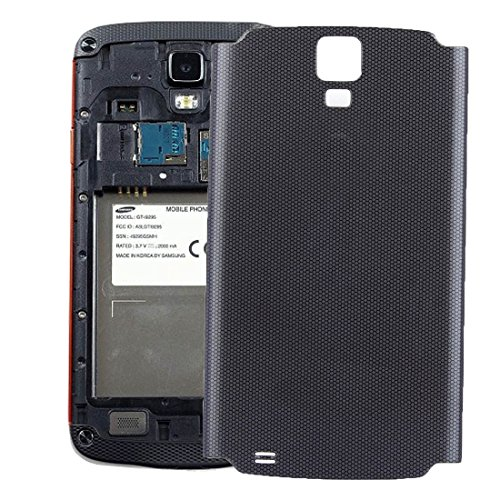 DINGGUANGHE-CELL PHONE ACCESSORIES High-end Best Replacement Parts Battery Back Cover Compatible with Samsung Galaxy S4 Active / I537 (Color : Black)