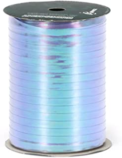 Berwick R15 03 3/16-Inch Wide by 100 Yard Spool Uncrimped Iridescent Curling Ribbon, Blue