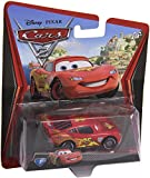 Disney Cars 2, Lightning McQueen with Racing Wheels Die Cast Vehicles, No 3, V2797