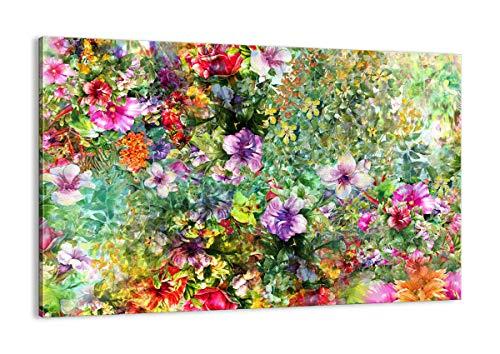 Cuadro sobre lienzo - Impresión de Imagen - flor verano naturaleza - 120x80cm - Imagen Impresión - Cuadros Decoracion - Impresión en lienzo - Cuadros Modernos - Lienzo Decorativo - AA120x80-3842