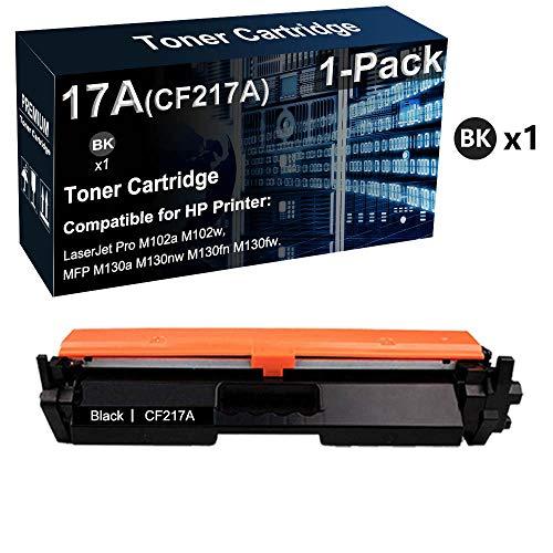Cartucho de tóner compatible LaserJet Pro M102a M102w para impresora HP CF217A 17A (negro, alta capacidad)