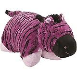 Original Purple Zany Zebra Pillow Pet - 18' Stuffed Animal Plush Toy