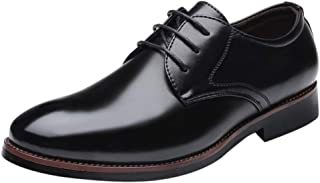 Fauean Men'S Dress Shoes Classic Brogue Oxford Formal Men'S Shoes