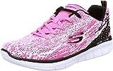 Skechers - Zapatillas Deportivas Modelo Synergy 2.0 High Spirits para Chica Mujer (36 EU) (Rosa Fuerte/Negro)