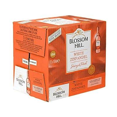 Blossom Hill White Zinfandel 18.75cl Rosé Wine Miniature - 12 Pack