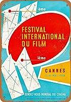 1958カンヌ映画祭ポスターコレクティブルウォールアート