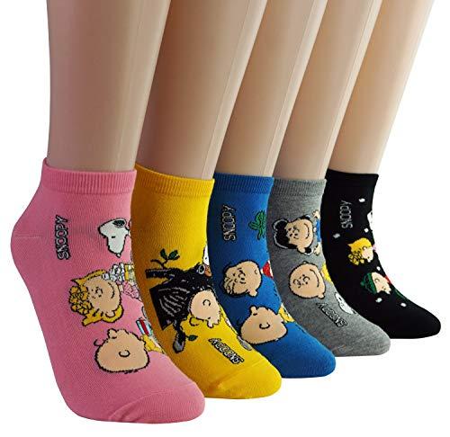 DASOM Snoopy Socken Frauen Erdnüsse
