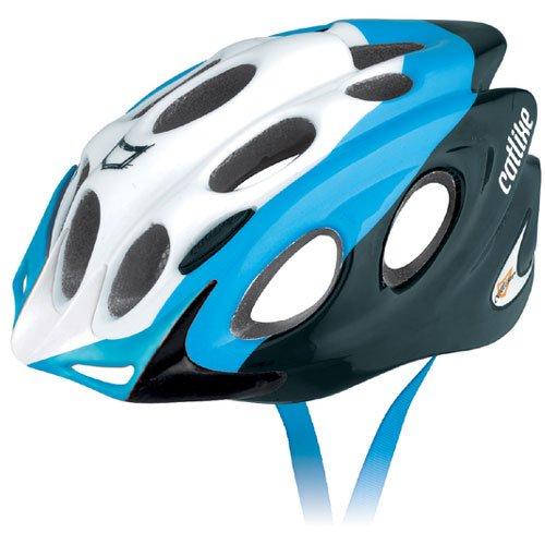 Catlike 0116052Fahrrad Helm, Unisex Erwachsene, Unisex – Erwachsene, 0116052, weiß/blau