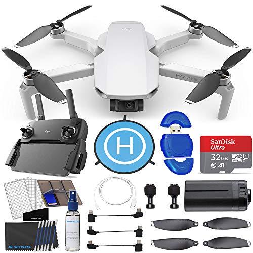 DJI Mavic Mini Portable Drone Quadcopter Ultimate Bundle (Renewed)