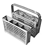 Yours Universal Dishwasher Silverware Replacement Basket - Utensil/Cutlery Basket - Fit For Bosch, Maytag, Kenmore, Whirlpool, KitchenAid, LG, Samsung, Frigidaire, GE