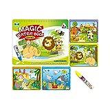 Sipobuy Magic Water Drawing Book Agua Libro para Colorear Doodle con Magic Pen...