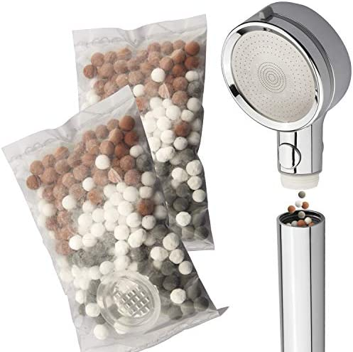 LaserJet 2 piece Mixed Mineral Stones Replacement Set Use with Any LaserJet Handheld Shower product image