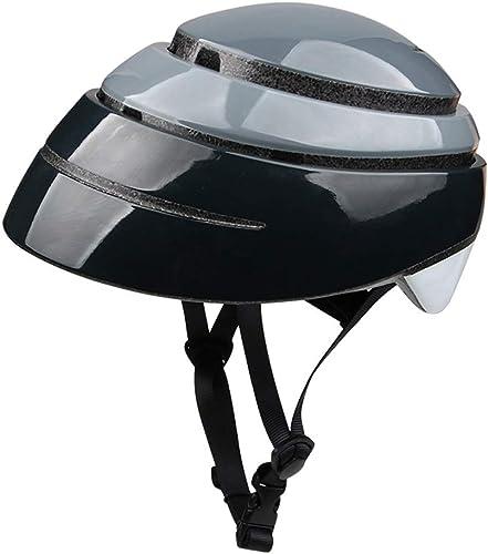 XINGUANG Vélo Pliant, Casque Pliant Casque de vélo portatif pour Homme, Ville, Transport,  , Scooter, Chapeau de sécurité, Femme