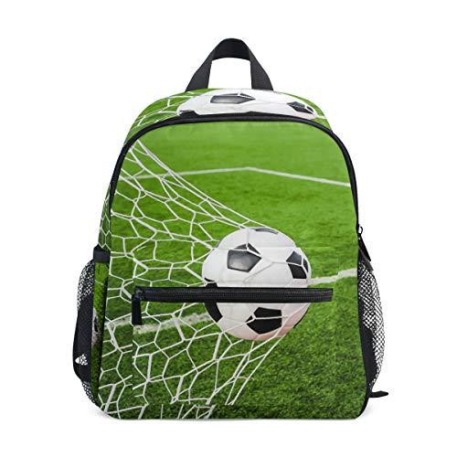 CPYang Kinder Rucksack Sport Fußball Tornetz Schultasche Kindergarten Kleinkind Vorschule Rucksack für Jungen Mädchen Kinder