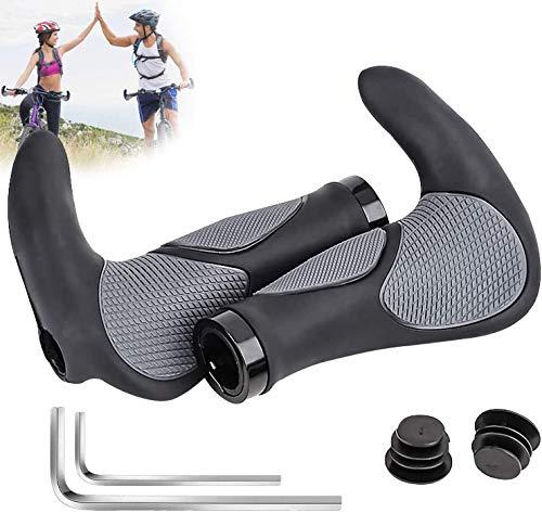 MOOB Bike Hand Grips,Manopola MTB per Bicicletta,Manopole in Gomma Antiscivolo,Manopole Bici...