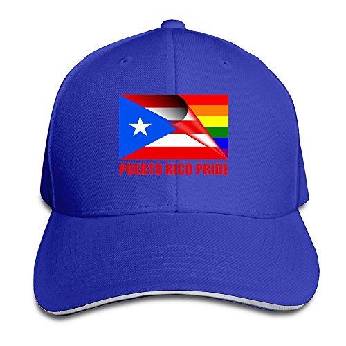 Negro Orgullo LGBT Bandera del Arco Iris Ajustable Racing Cap