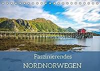 Faszinierendes Nordnorwegen (Tischkalender 2022 DIN A5 quer): Wundervolle Naturlandschaften im Norden Norwegens (Monatskalender, 14 Seiten )