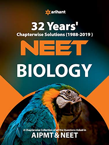 32 Years Chapterwise Solutions CBSE AIPMT & NEET Biology