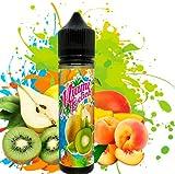 E-Liquid MIAMI BEACH | 60ML TPD | ElecVap | Sin Nicotina: 0MG | E-Liquido vapeo para Cigarrillos Electronicos - E Liquidos para Vaper 70/30