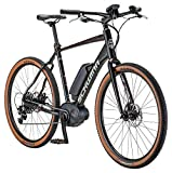 Schwinn Vantage FXe 650b Electric Sport Hybrid Road Bike, 55cm/Medium Frame, Matte Black/Copper