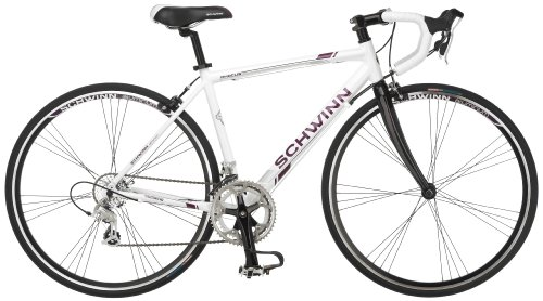 Schwinn Phocus 1600 Drop Bar Womens Road Bicycle, 41cm/Small Aluminum...