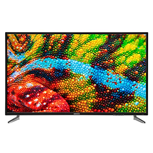 MEDION P15001 125,7 cm (50 Zoll) UHD Fernseher (4K Ultra HD, HD Triple Tuner mit DVB-T2 HD, DVB-C, DVB-S2, integrierter Mediaplayer, CI+, PVR)