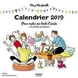 Calendrier 2019 Ma P'tite famille pour rester zen toute l'année et en toutes circonstances !