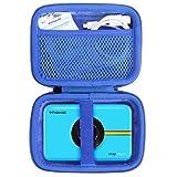 Khanka EVA custodia viaggi borsa portaoggetti per Polaroid Snap Touch 2.0 /Snap Touch Fotocamera digitale a stampa istantanea Zink Zero portatile. (cerniera blu)