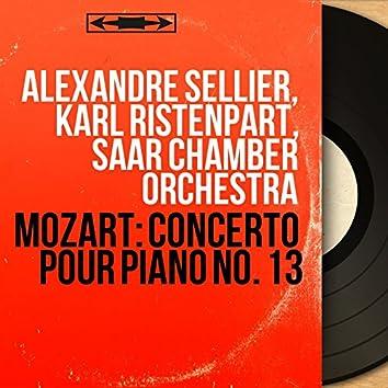 Mozart: Concerto pour piano No. 13 (Mono Version)
