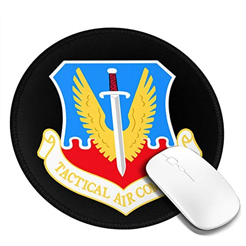 Air Force USAF Tactical Air Command Mouse Pad 7.9x7.9 in Mouse Mat Gaming Mouse Pad for Laptop Computer Pc Gaming Office