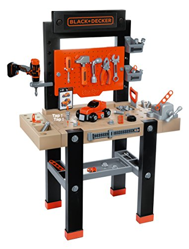Smoby-Black + Decker Black & Decker-Bricolo Center Taller