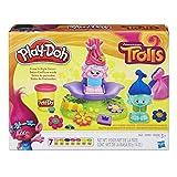 Play-Doh Trolls Press N Style Salon Model Kit