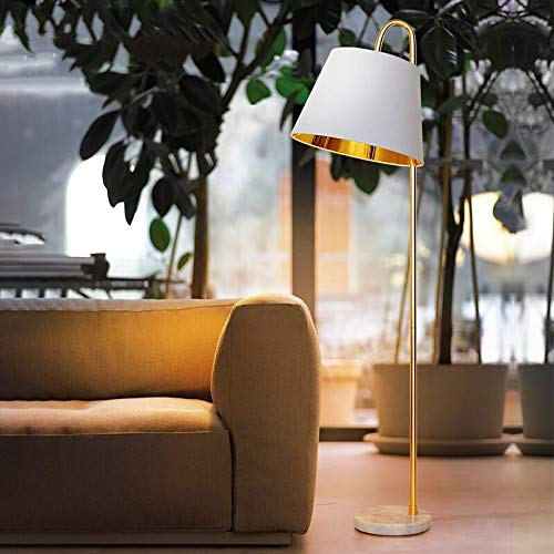 TAIYUANNT lámpara de Piso Lámpara de pie de Pesca Simple Moderna Lámpara de Mesa de Oro Lámparas de pie Americana Sala de Estar Lámparas de Escritorio Lámparas Decoración del hogar Cuarto