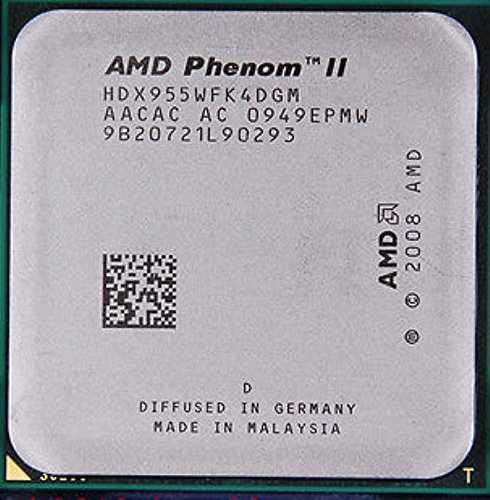 AMD Phenom II X4 955 – 3,2 GHz Quad-Core CPU procesador hdx955wfk4dgm Socket AM3 95 W