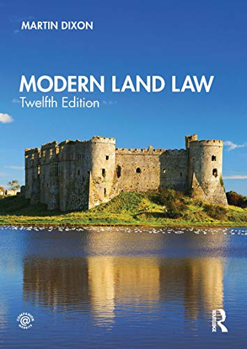 Modern Land Law (English Edition)
